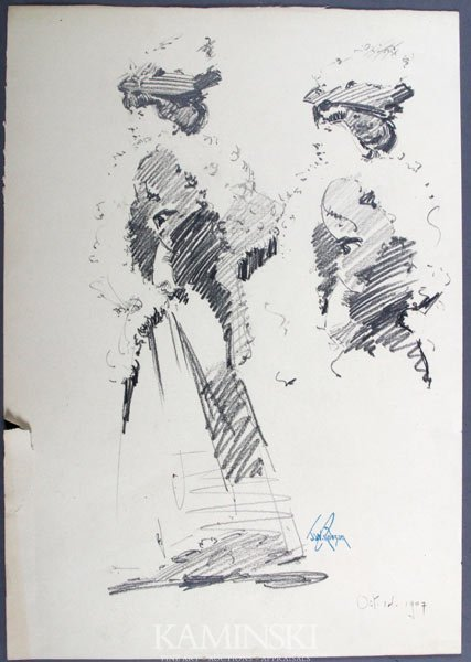 2005: Robson, Twin Sisters, Pencil