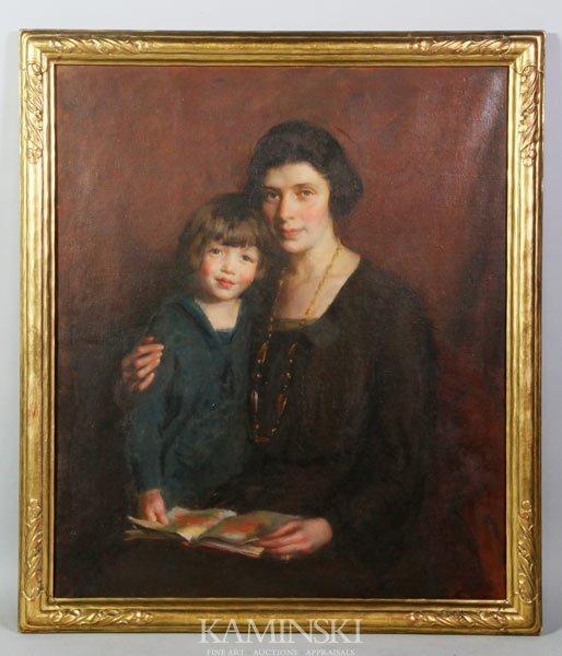 2006: Hoffman, Boston School Woman and Child