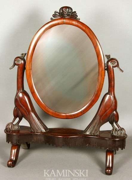 2011: 19th C. Folk Art Shaving Mirror