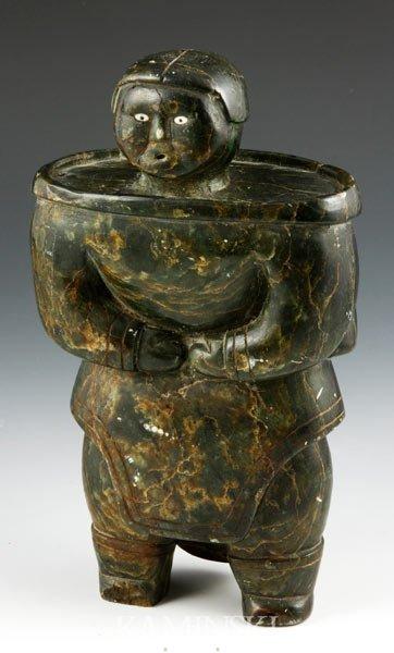 2020: 20th C. Inuit Stone Figure