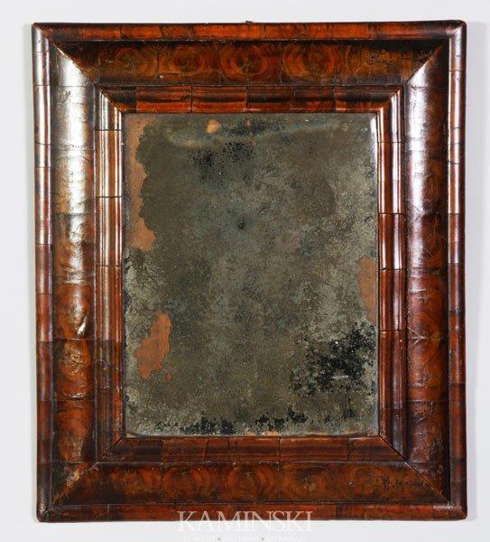 2023: 17th C. English Oysterwood Mirror