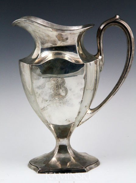 4002: Sterling Water Pitcher