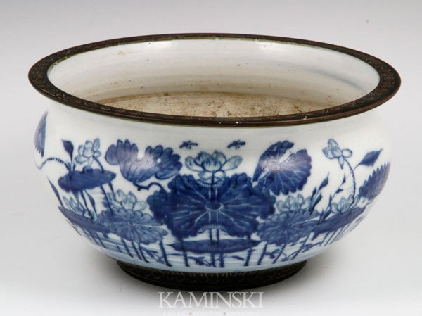 4011: Blue and White Chinese Bowl