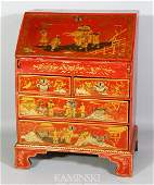 18th C. English Chinoiserie Desk