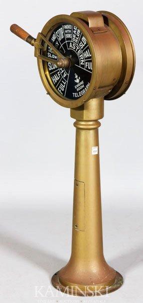 5013: Brass Ship's Telegraph