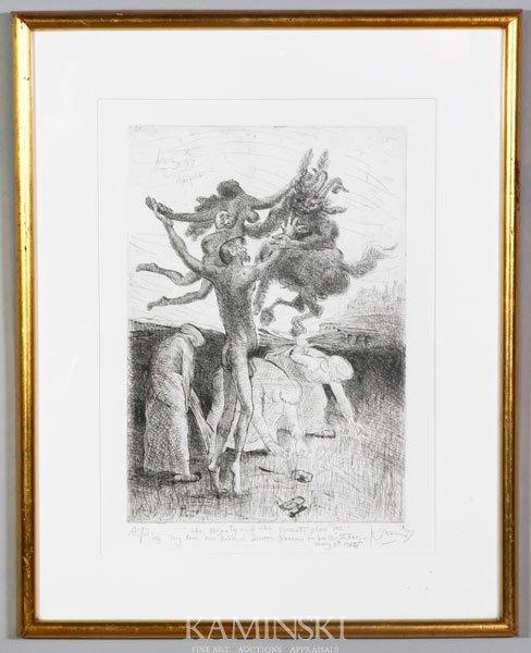 6012: Kaz, Artist's Proof Etching