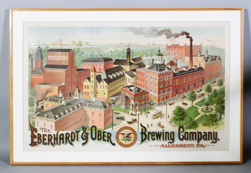 Print, The Eberhardt and Ober Brewing Company