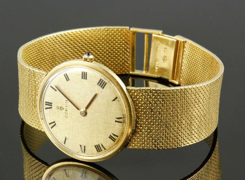 18K Gold Corum Classique Watch