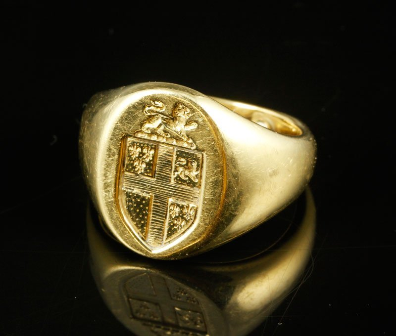 18K Gold Tiffany & Co. Signet Ring