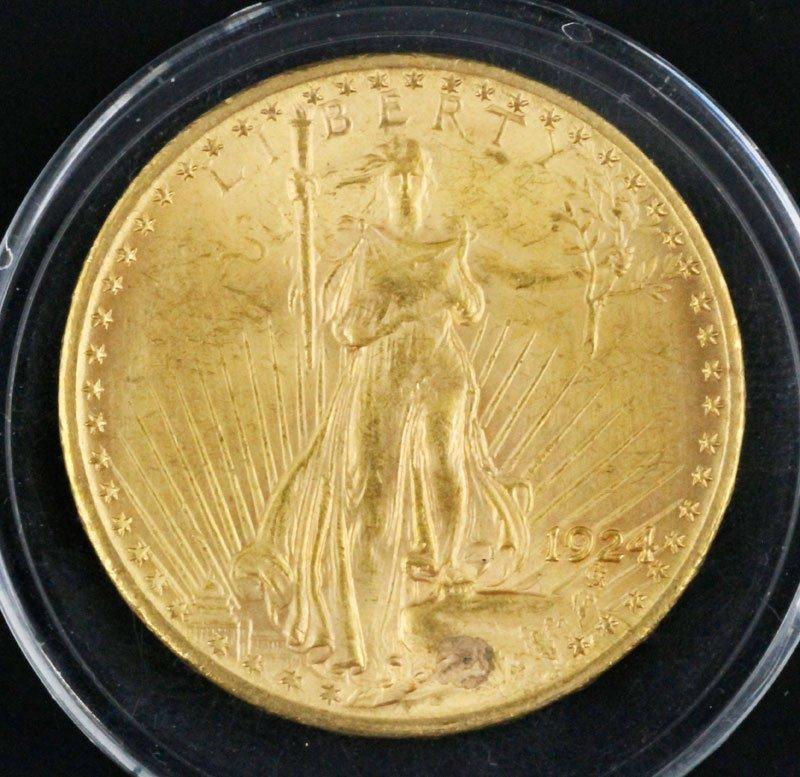 St. Gaudens $20 Gold Piece