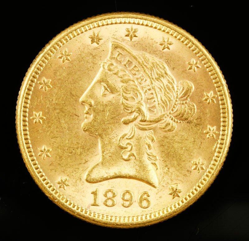 $10 Gold Libert Bust
