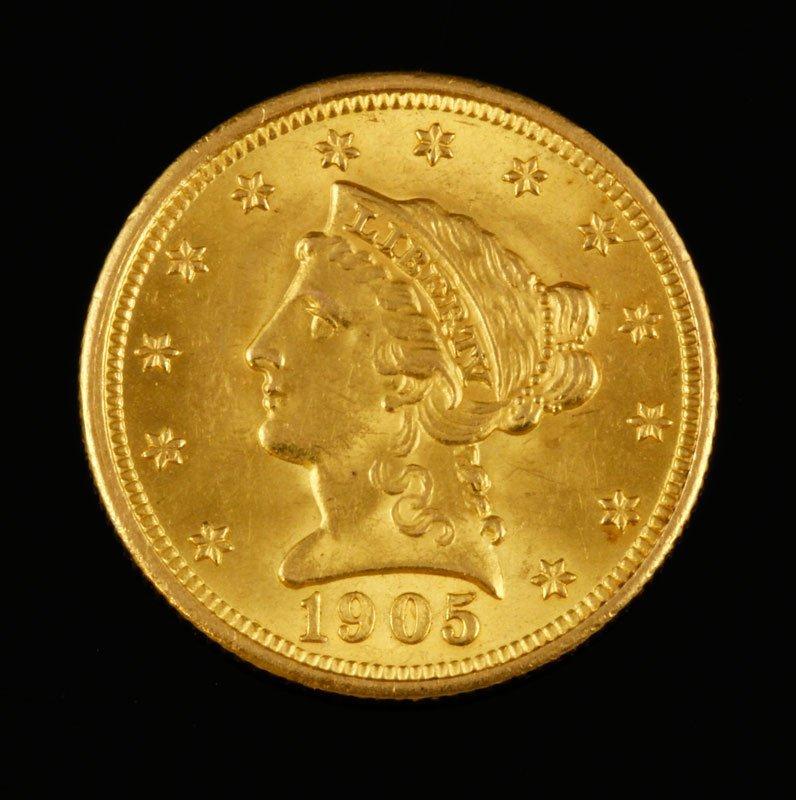 $2.50 Liberty Head Coin