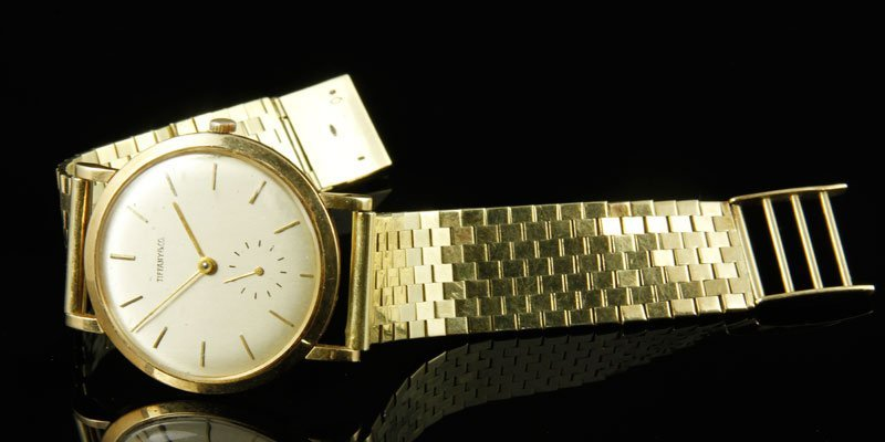 14K Tiffany and Co. Gold Watch