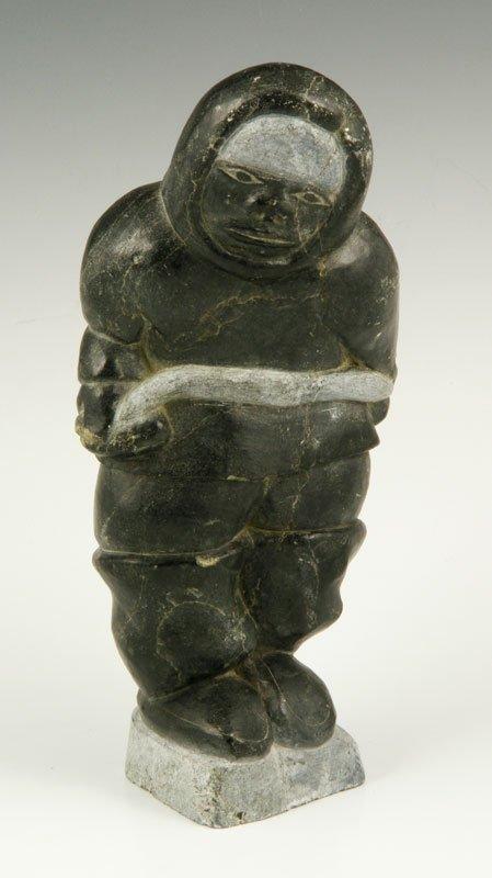Stone Inuit Figure