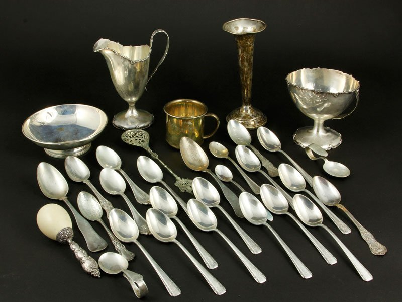 Lot of Miscellaneous Silver