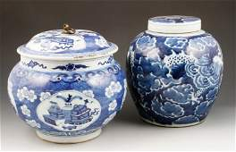 Two Chinese Ceramic Items
