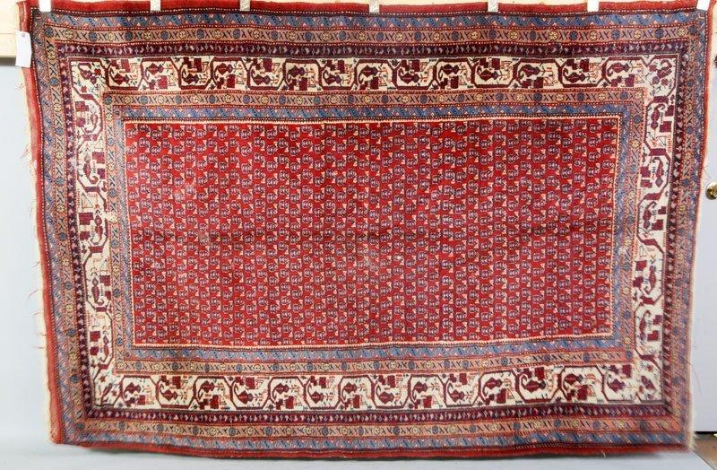 Semi-Antique Saraband Rug