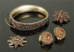 Victorian Garnet Jewelry