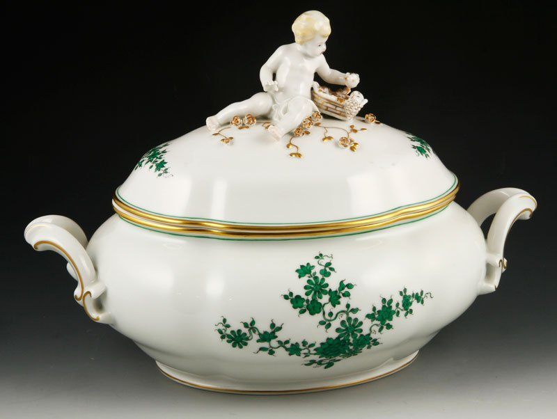 German Porcelain Soup Tureen