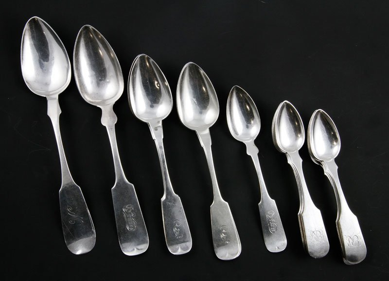 21 Silver Serving Spoons