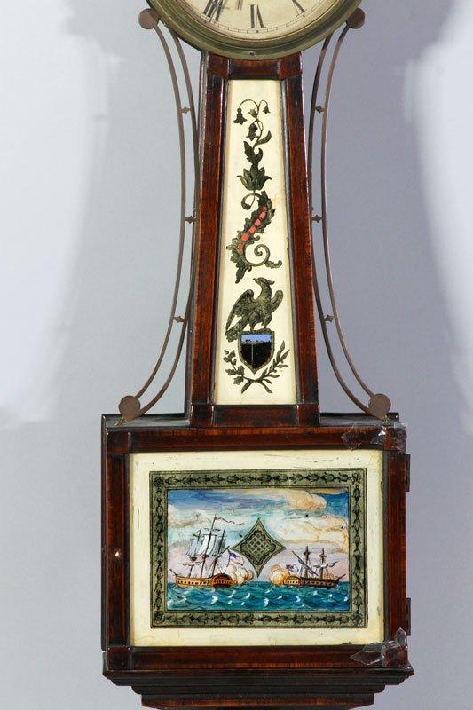 19th C. Boston Banjo Clock - 2