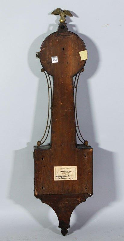 19th C. Boston Banjo Clock - 4