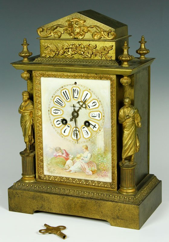 Early 20th C. Tiffany and Co. Clock