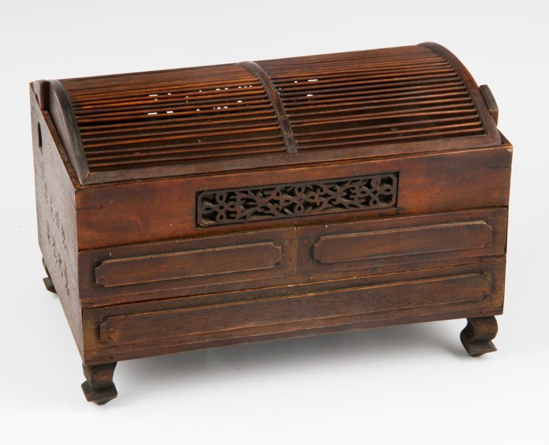 Chinese 19th/20th C. Wooden Box