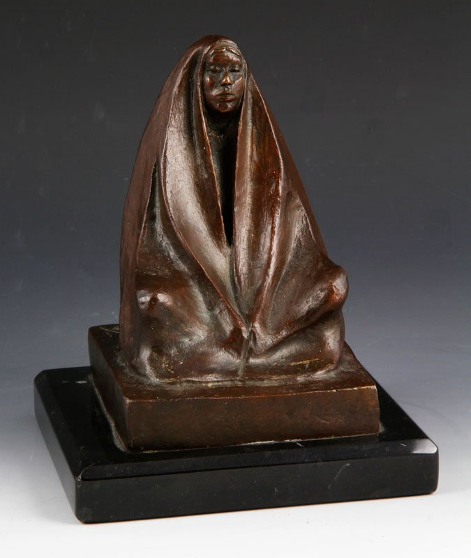 Bronze of a Woman