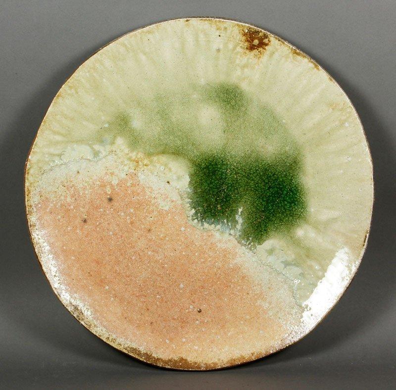 Nakagawa Pottery Charger