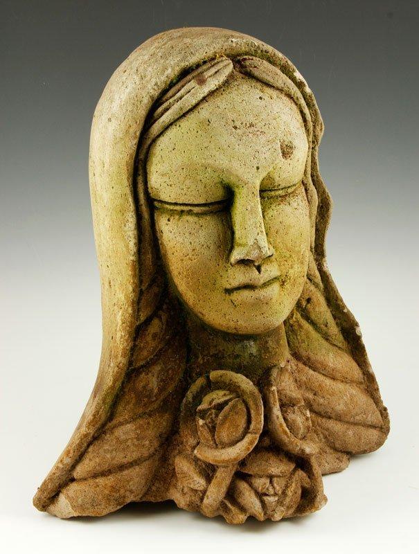 Modernist Sculpture of Woman