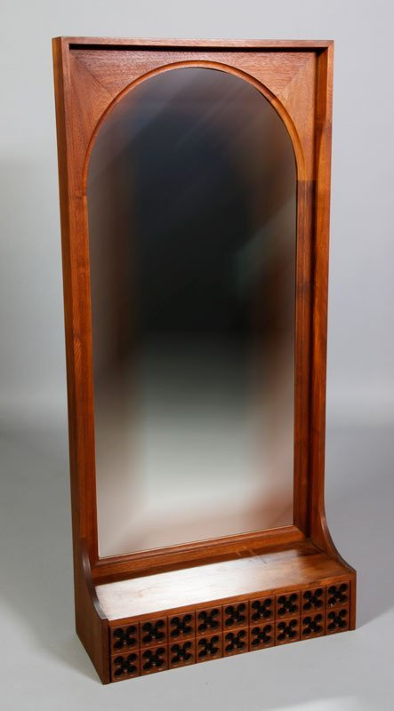 Howard Miller Mirror and Drawer Unit