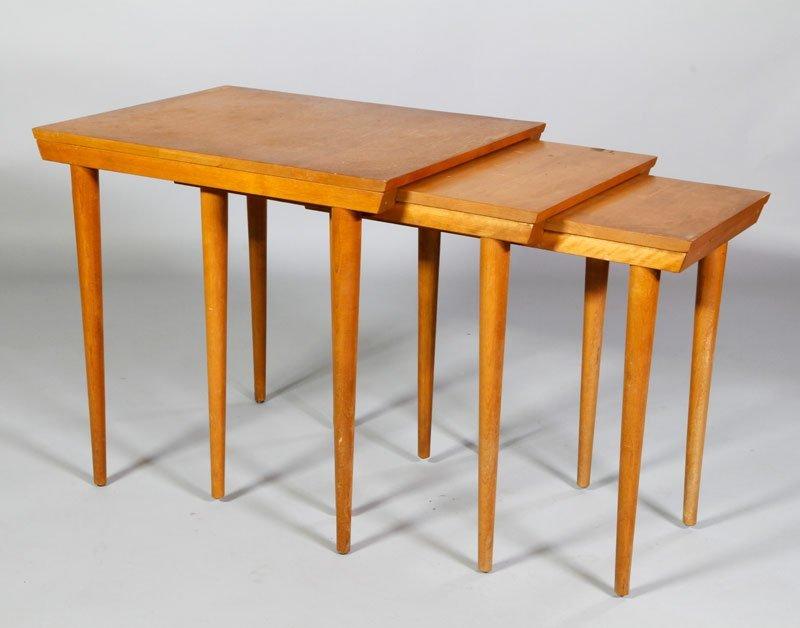 Leslie Diamond for Conant Ball Nesting Tables