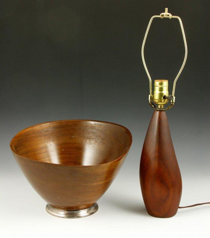 Danish Modern Teak Lamp