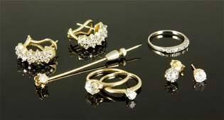 14K Gold and Diamond Jewelry