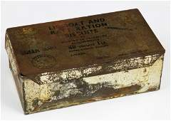 SS Queen Mary Lifeboat Ration Kit