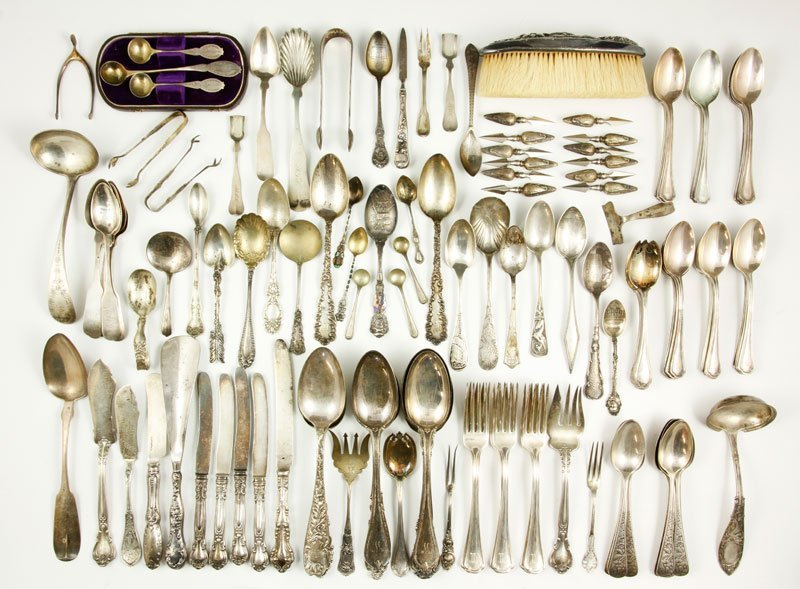 Lot of Assorted Silver Items