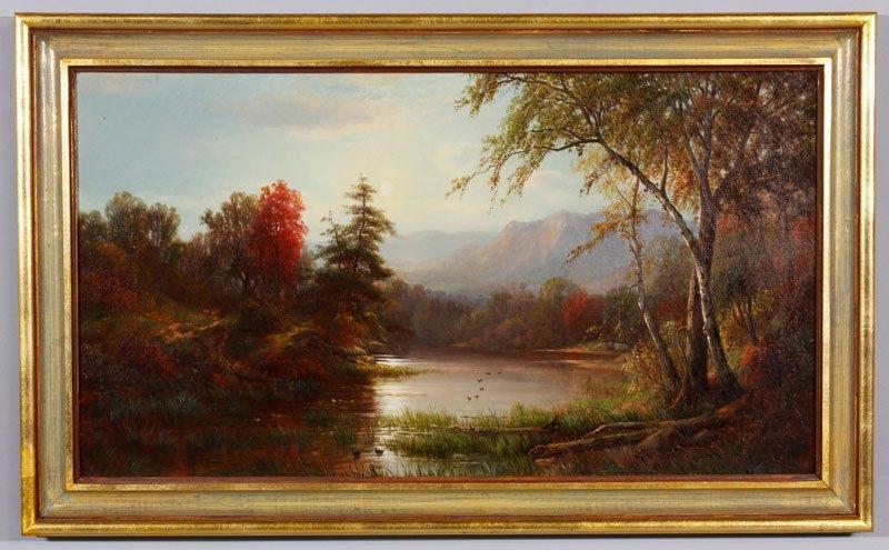 Hekking, Mountain Landscape, O/C