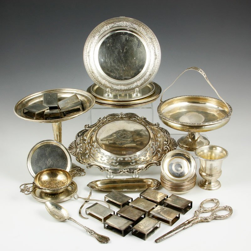 Lot of Assorted Sterling Items