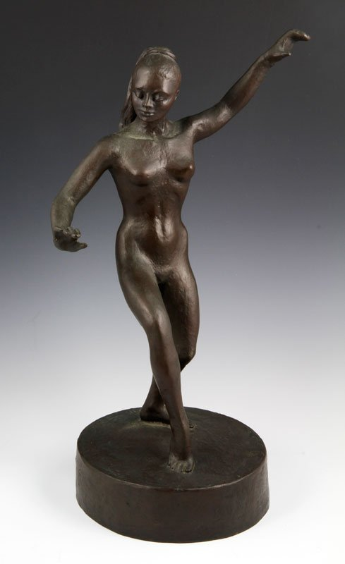 Bronze Figure of a Woman