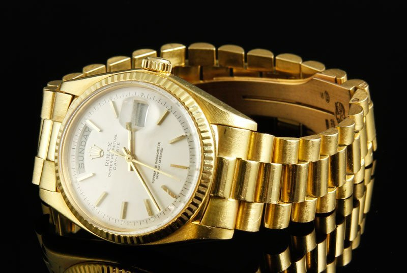 Mens 18K Rolex Presidential Watch