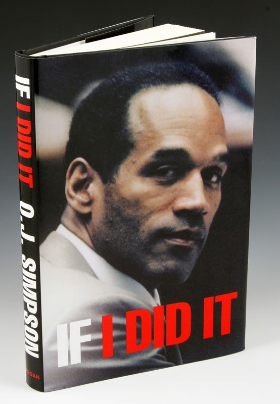 """Rare 2006 Edition of """"If I did It"""" by O.J. Simpson"""