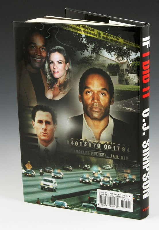 """Rare 2006 Edition of """"If I did It"""" by O.J. Simpson - 2"""