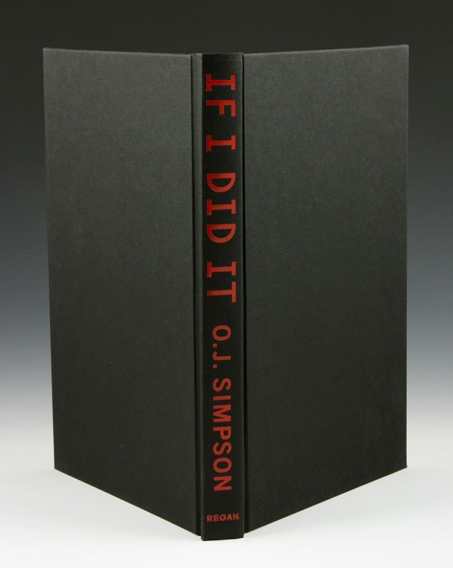 """Rare 2006 Edition of """"If I did It"""" by O.J. Simpson - 4"""