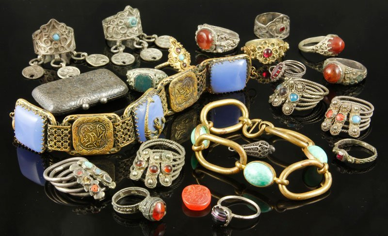 Lot of Persian and Asian Jewelry