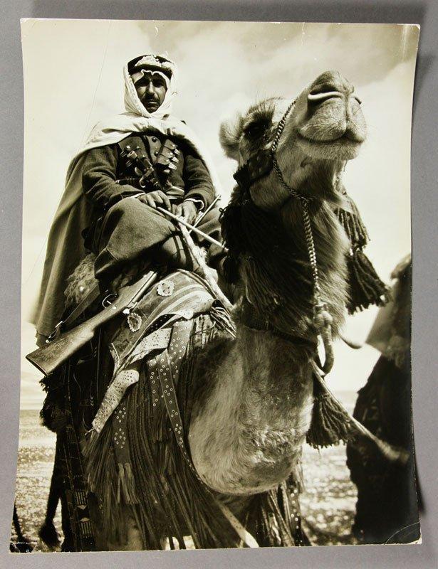 Bourke-White, Camel Corps at Dmeir, Gelatin Silver Prin
