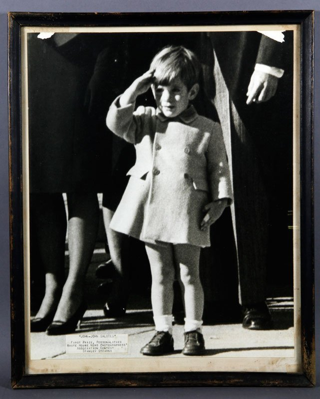 Stearns, John Kennedy Jr, Photograph