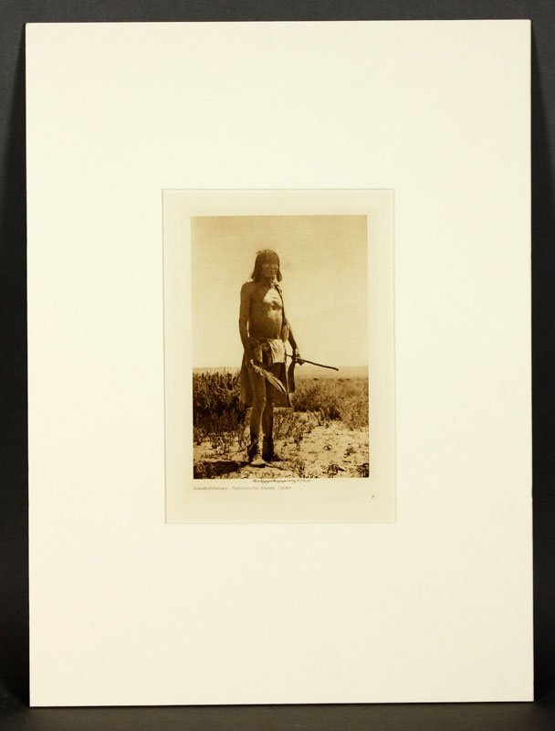 4 Photogravures by Curtis