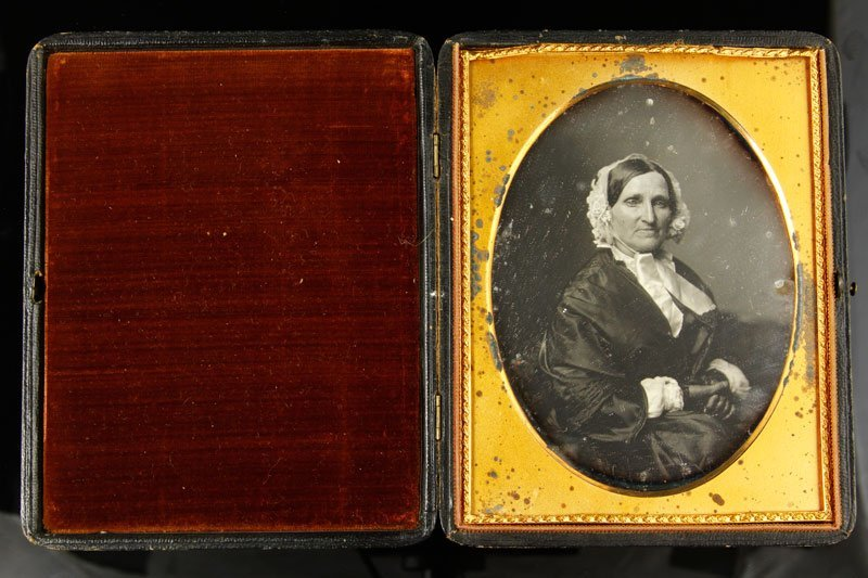 Early Daguerreotype of a Woman