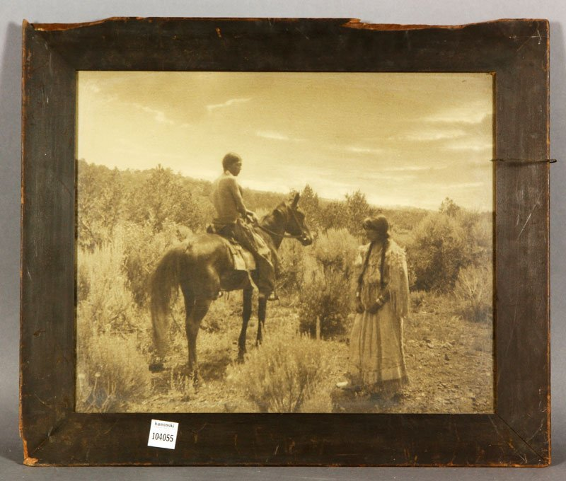 Photograph by Moon of Native Americans